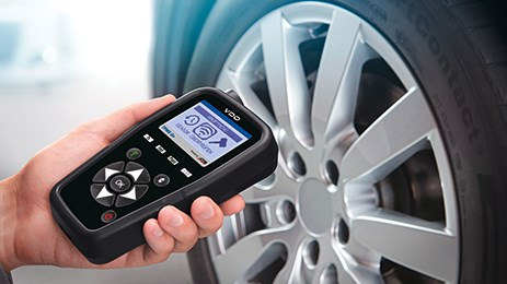 VDO TPMS Go: cost-effective, robust and easy to operate.